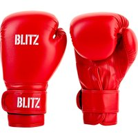 Blitz Kids Training Boxing Gloves - Red - 10oz