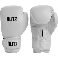 Blitz Kids Training Boxing Gloves - White - 10oz
