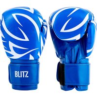 Blitz Muay Thai Boxing Gloves - Blue - 14oz