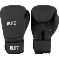 Blitz Odyssey Washable Boxing Gloves - Black - 14oz