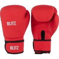 Blitz Odyssey Washable Boxing Gloves - Red - 14oz