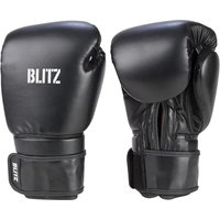 Blitz Omega Boxing Gloves - Black - 14oz
