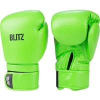 Blitz Omega Boxing Gloves - Neon Green - 14oz