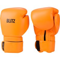 Blitz Omega Boxing Gloves - Neon Orange - 14oz