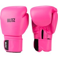 Blitz Omega Boxing Gloves - Neon Pink - 14oz