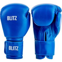 Blitz Training Boxing Gloves - Blue - 10oz