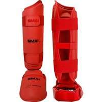 Image of SMAI WKF Approved Shin & Instep - Red