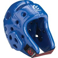 Image of Wacoku WT Approved Dipped Foam Head Guard - Blue