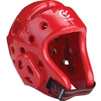 Image of Wacoku WT Approved Dipped Foam Head Guard - Red