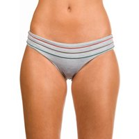 Bademode - RVCA Pipeline Medium Bikini Bottom heather grey  - Onlineshop Blue Tomato