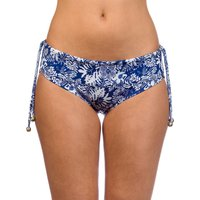 Bademode - Salty Bird Surf Apparel Mavericks Bikini Bottom navy floral  - Onlineshop Blue Tomato