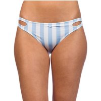 Bademode - Malibu True B You Hipster Bikini Bottom blue white  - Onlineshop Blue Tomato