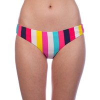 Bademode - Rip Curl Surf Revival Sun Stripe Classic Bikini Bottom ibis rose  - Onlineshop Blue Tomato