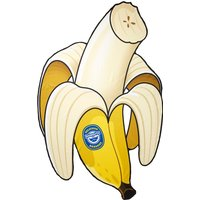 Big Mouth Toys Banana Beach Towel banana beach