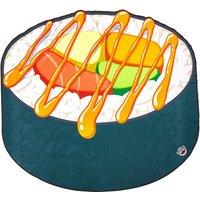 Big Mouth Toys Sushi Beach Towel sushi