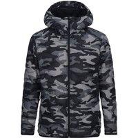 Peak Performance Helium Hood Print Jacket pattern