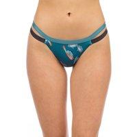 Bademode - Patagonia Nanogrip Banded Bikini Bottom parrots sml tasman teal  - Onlineshop Blue Tomato
