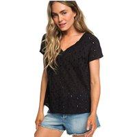 Roxy Union Square Flower T-Shirt true black