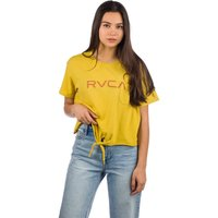 RVCA Big T-Shirt mustard
