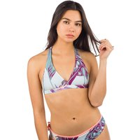 Bademode - Zealous Signature V Surf Bikini Top jungle jam  - Onlineshop Blue Tomato