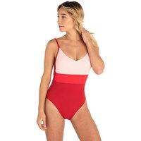 Bademode - Rip Curl Eightees Swimsuit coral blush  - Onlineshop Blue Tomato