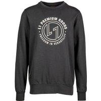 L1 Emblem Crew Sweater vintage black
