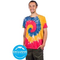 Love Woodstock T-Shirt ty die allover washing
