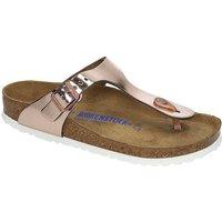 Sandalen - Birkenstock Gizeh Sandals nl sfb metallic copper  - Onlineshop Blue Tomato