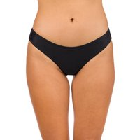 Bademode - Volcom Simply Solid Cheekin Bikini Bottom black  - Onlineshop Blue Tomato