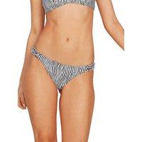 Bademode - Volcom Stripe Away Hipster Bikini Bottom white  - Onlineshop Blue Tomato