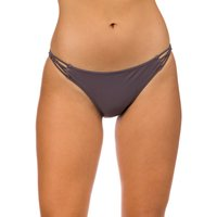 Bademode - Volcom Simply Solid Full Bikini Bottom steel purple  - Onlineshop Blue Tomato