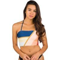 Bademode - Rip Curl Sunsetters Block Bandeau Bikini Top peach  - Onlineshop Blue Tomato