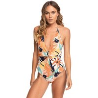 Bademode - Roxy Swim The Sea Swimsuit peach blush bright skies  - Onlineshop Blue Tomato