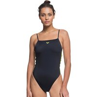 Bademode - Roxy Sisters Hi Leg Sporty Swimsuit anthracite  - Onlineshop Blue Tomato