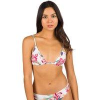Bademode - Roxy Lahaina Bay Fashion Tiki Tri Bikini Top bright white tropic call  - Onlineshop Blue Tomato