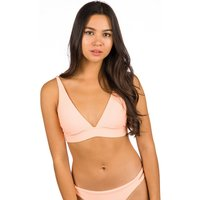Bademode - Billabong Under The Sun Hi Tri Bikini Top neon peach  - Onlineshop Blue Tomato