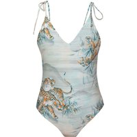 Bademode - Hurley Tiger Swimsuit outdoor green  - Onlineshop Blue Tomato