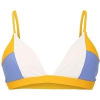 Bademode - Hurley Rib Blocked Triangle Bikini Top sail  - Onlineshop Blue Tomato
