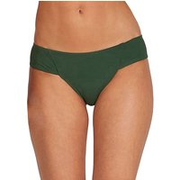 Bademode - Volcom Simply Rib Cheeky Bikini Bottom green  - Onlineshop Blue Tomato