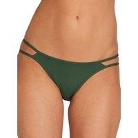 Bademode - Volcom Simply Rib Hipster Bikini Bottom green  - Onlineshop Blue Tomato