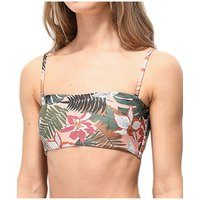 Bademode - Damsel Sandstone Leaves Bikini Top pale almond  - Onlineshop Blue Tomato