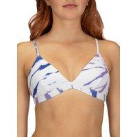 Bademode - Hurley Rib Spider Royale Tri Bikini Top racer blue  - Onlineshop Blue Tomato