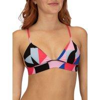 Bademode - Hurley Geo Bralette Bikini Top red orbit  - Onlineshop Blue Tomato