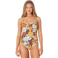Bademode - Rip Curl Golden Days Cheeky Swimsuit cream  - Onlineshop Blue Tomato