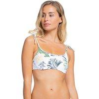 Bademode - Roxy Bloom UW Bralette Bikini Top bright white praslin  - Onlineshop Blue Tomato