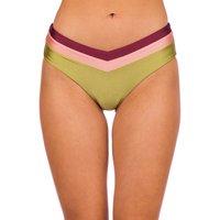 Bademode - Rip Curl Tallows High Waist Cheeky Bikini Bottom green  - Onlineshop Blue Tomato