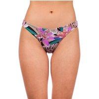 Bademode - Hurley Palm Paradise Mod Bikini Bottom black multi  - Onlineshop Blue Tomato