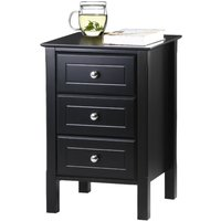 wooden-accent-end-table-nightstand-living-room-furniture-black-new