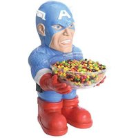 Rubies Marvel Captain America Halloween Candy Bowl Holder  new