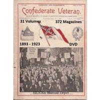 The Original Confederate Veteran Magazine * 1893-1923 * Civil War Pictures * DVD